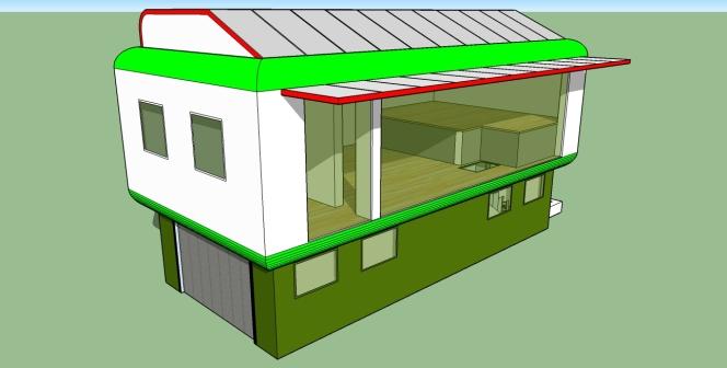 Tiny Affordable Ecohouse