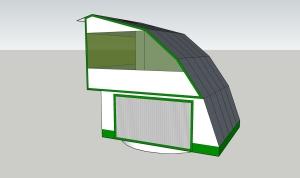 Sun tracker garage